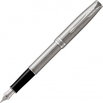 Ручка перьевая PARKER ESSENTIAL SONNET STAINLESS STEEL CT F
