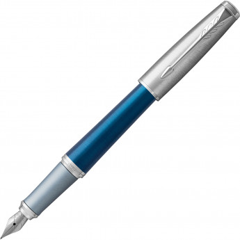 Ручка перьевая PARKER URBAN PREMIUM DARK BLUE CT, F
