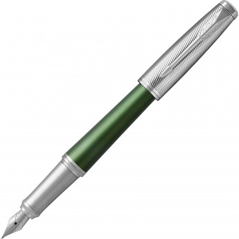 Ручка перьевая PARKER URBAN PREMIUM GREEN CT, F