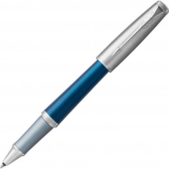 Ручка-роллер PARKER URBAN PREMIUM DARK BLUE CT, F