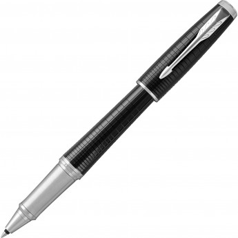 Ручка-роллер PARKER URBAN PREMIUM EBONY METAL CT, F