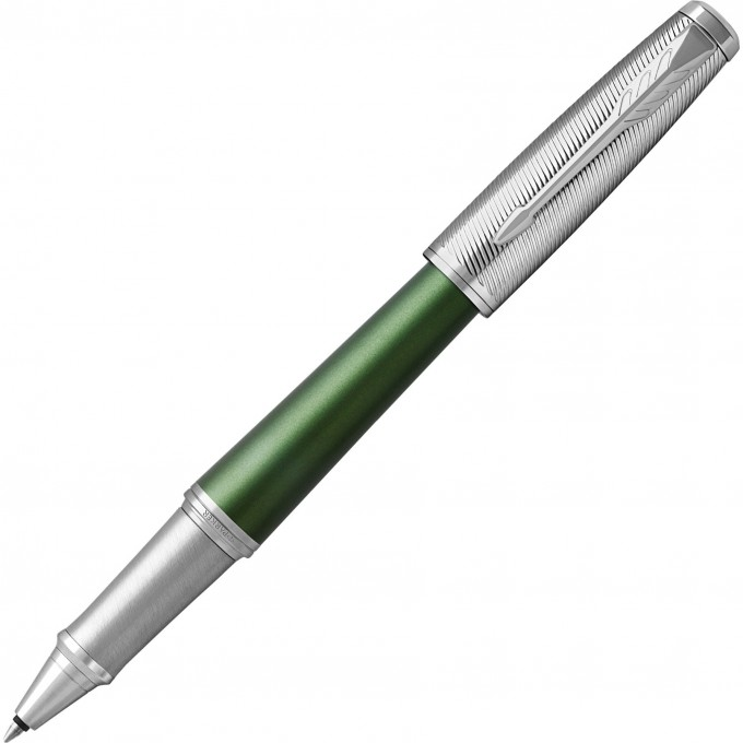Ручка-роллер PARKER URBAN PREMIUM GREEN CT, F 1931618