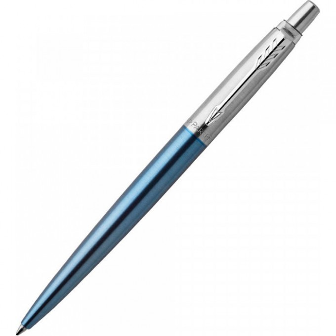 Ручка шариковая PARKER JOTTER WATERLOO BLUE CT, M 1953191