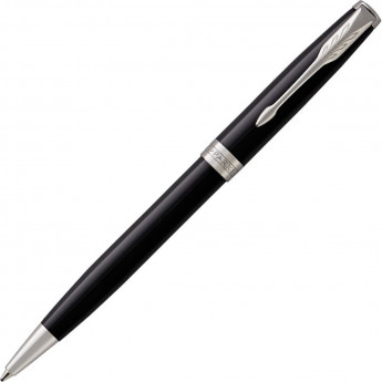 Шариковая ручка PARKER ESSENTIAL SONNET LAQUE BLACK CT М